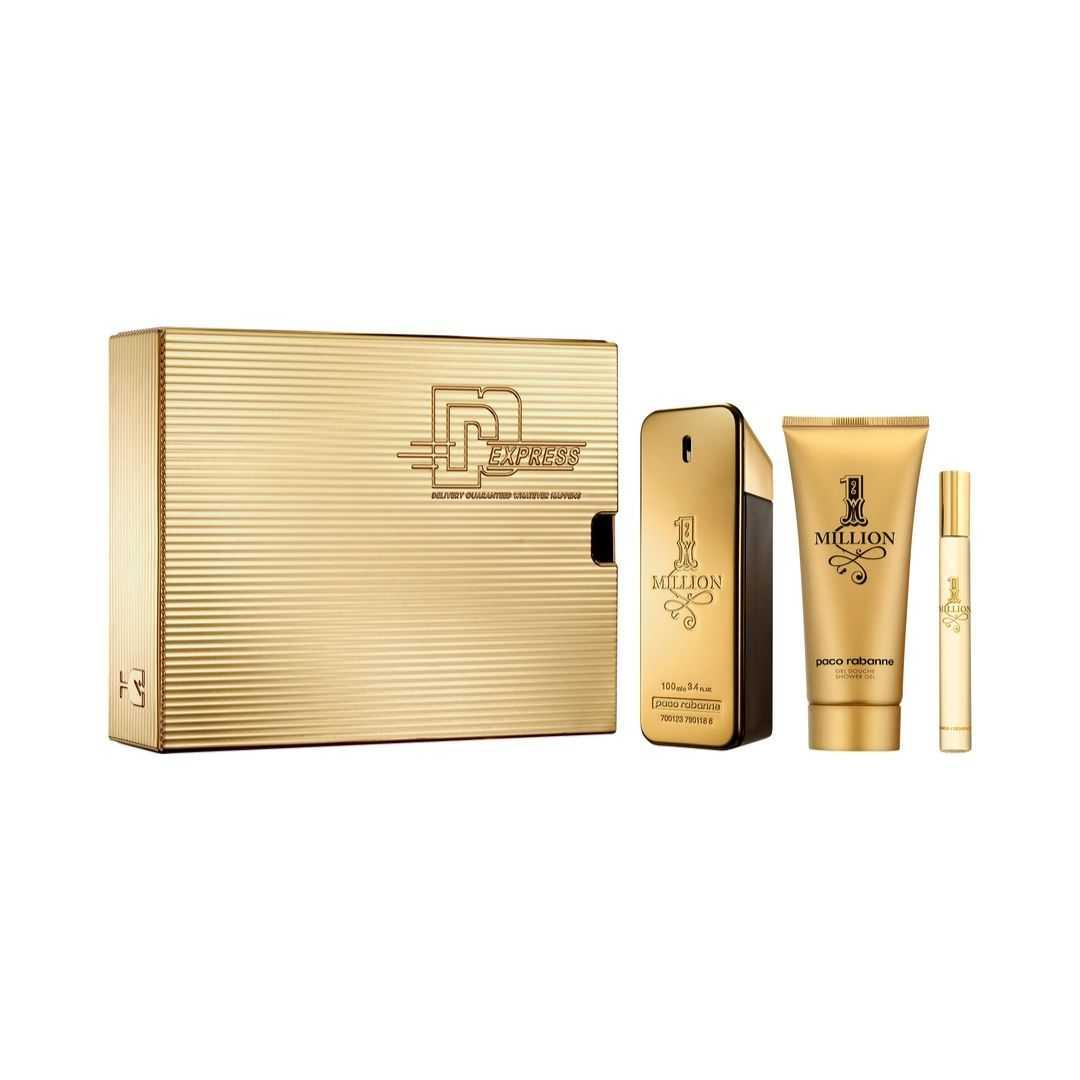 Paco Rabanne 1 Million For Men Eau De Toilette 100ML Set