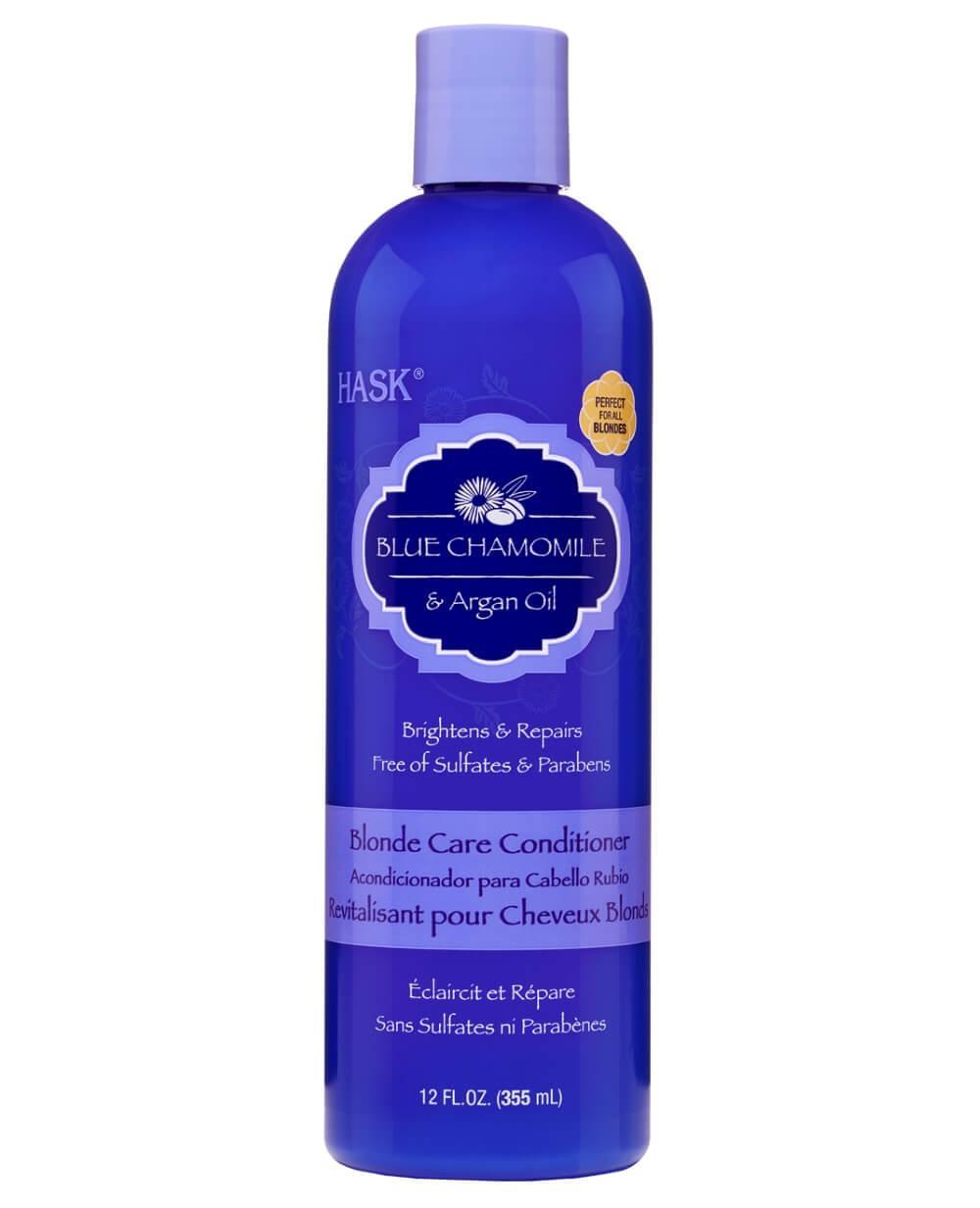 Hask Blue Chamomile & Argan Oil Blonde Care Conditioner 355ml