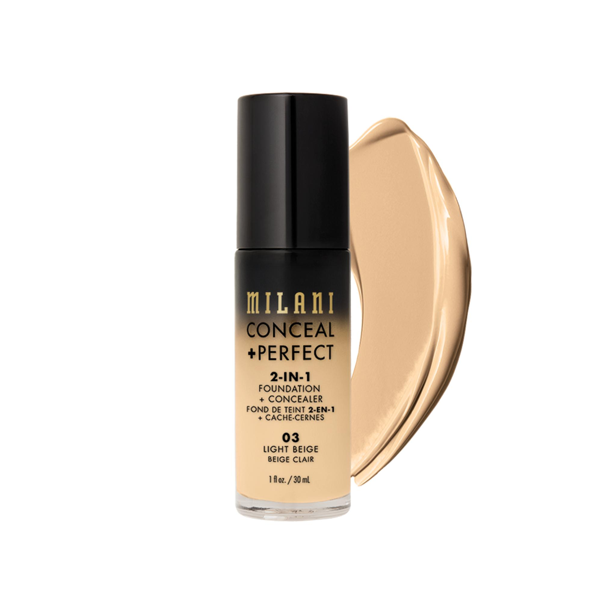 Milani Conceal + Perfect 2-In-1 - 03 Light Beige