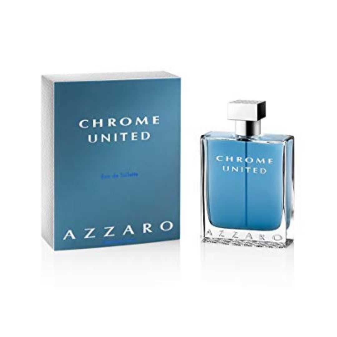 Azzaro Chrome United For Men Eau De Toilette 200ML