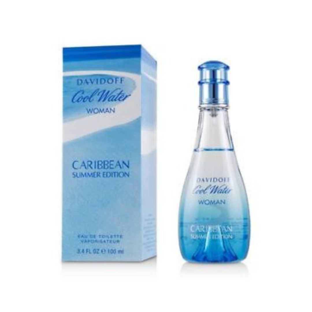 Davidoff Cool Water Caribbean Summer Edition For Women Eau De Toilette 100ML