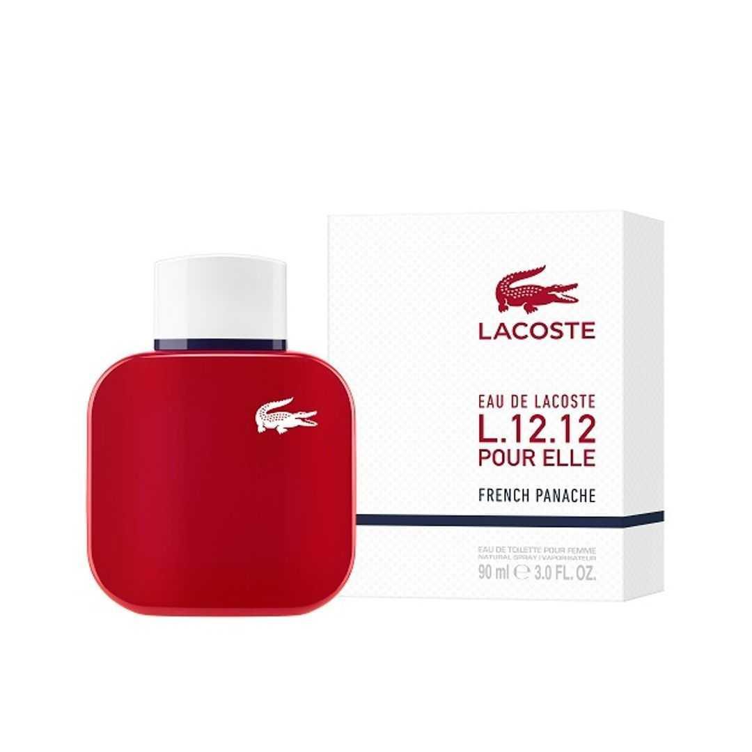 Lacoste L.12.12 Pour Elle French Panache For Women Eau De Toilette 90ML