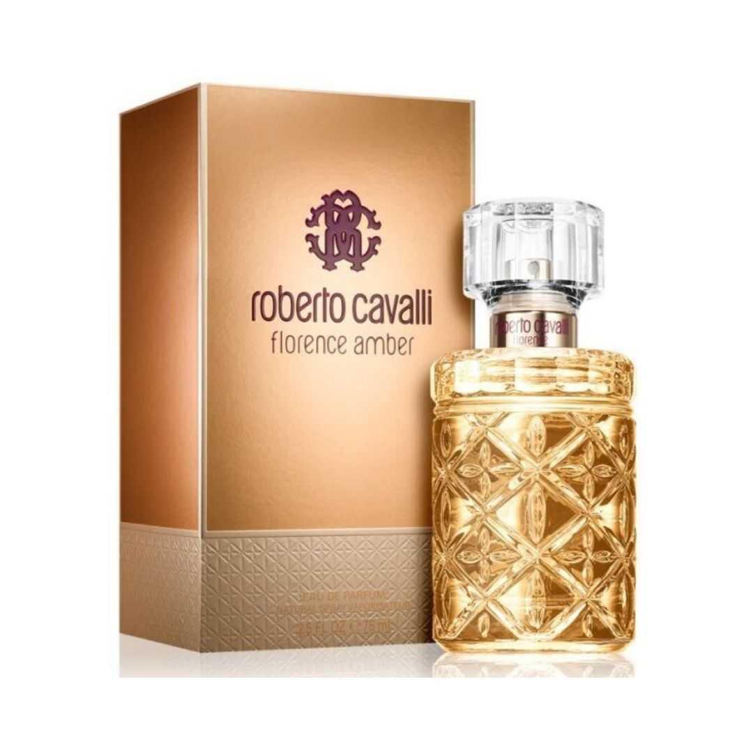 Roberto Cavalli Florence Amber For Women Eau De Parfum 75ML