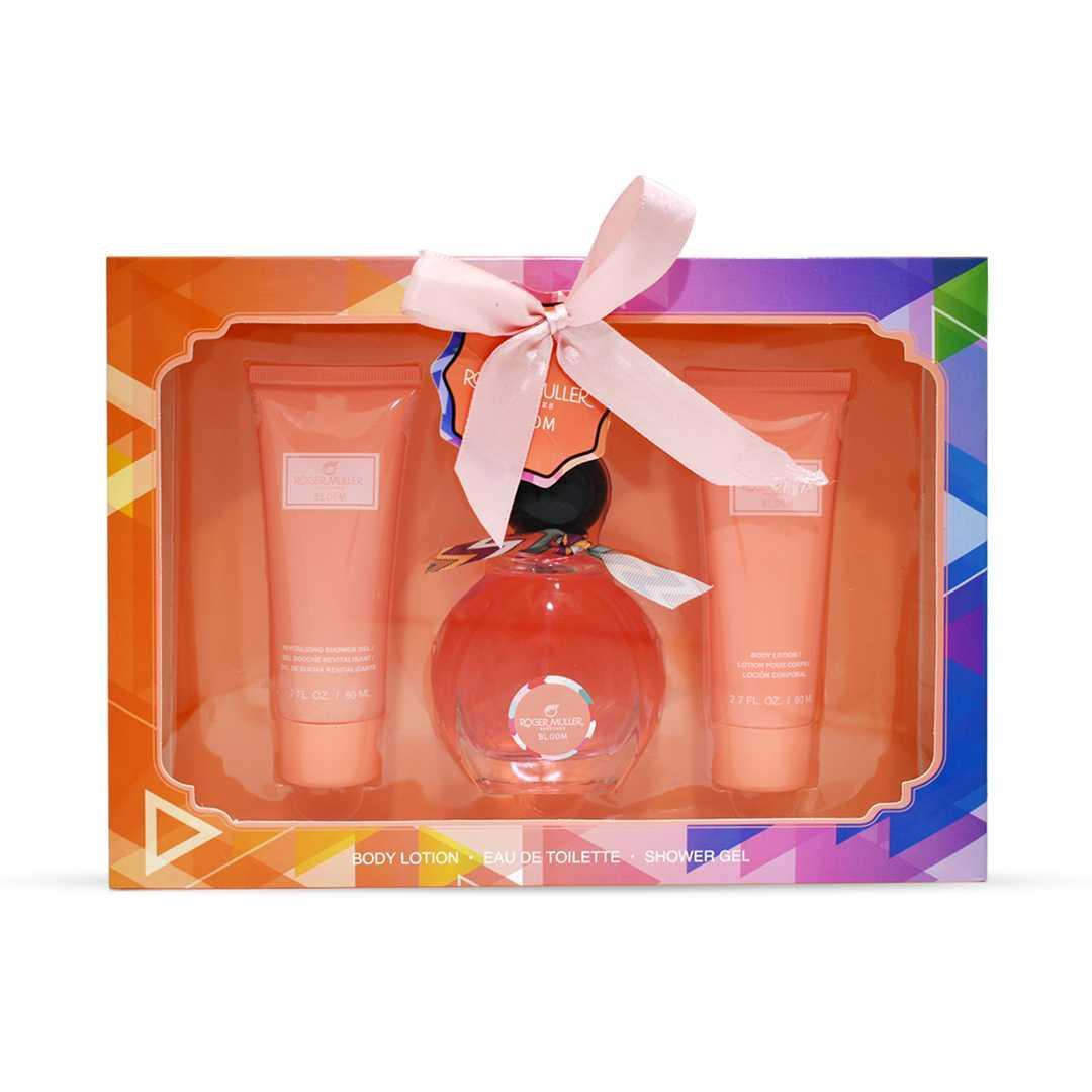 Roger Muller Perfumes Bloom For Women Eau De Toilette 50ML Set