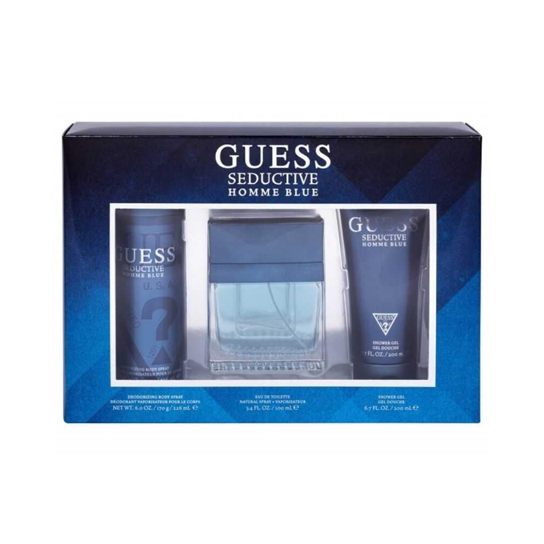 Guess Seductive Homme Blue Eau De Toilette 100ML Set