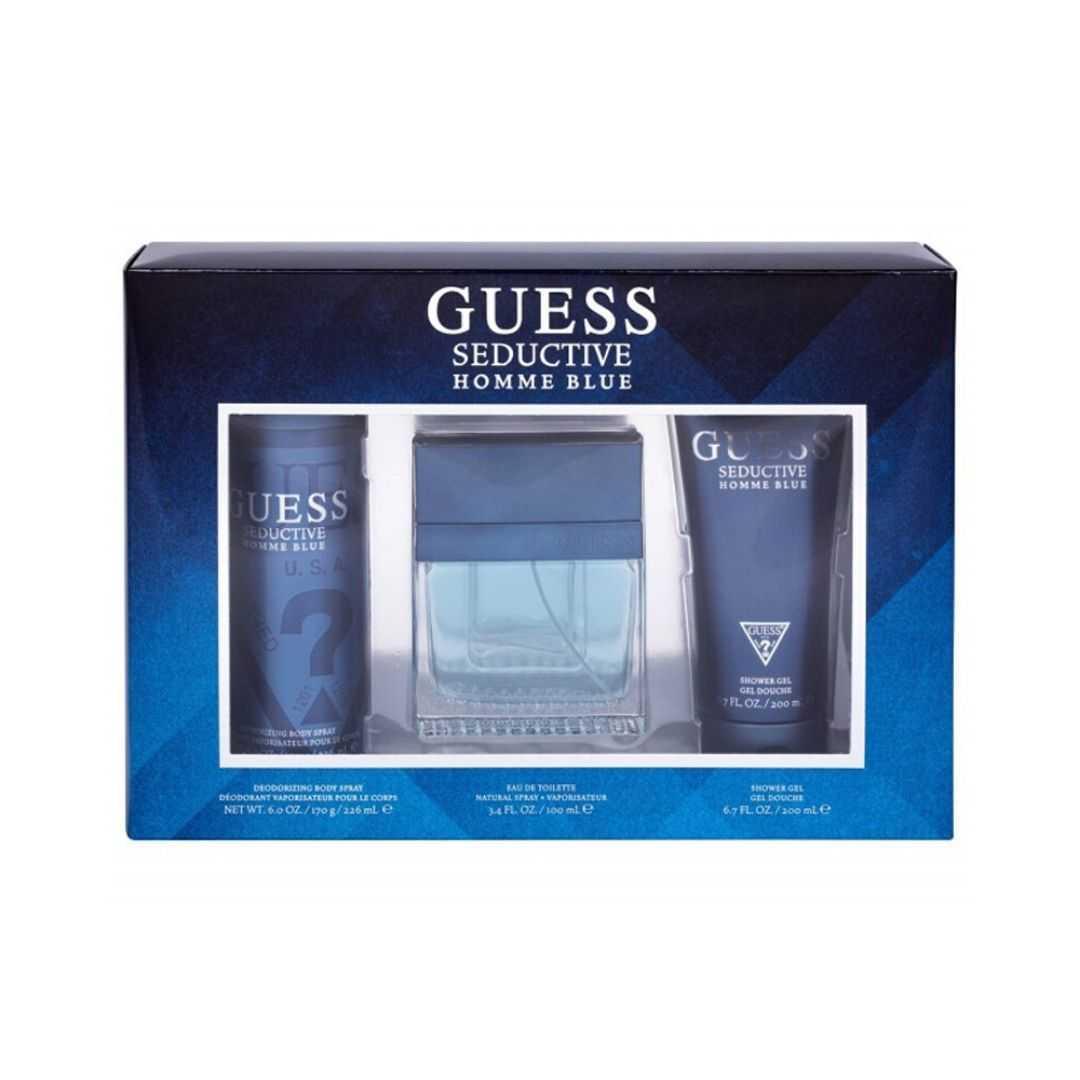 Guess Seductive Homme Blue Eau De Toilette 100ML Set