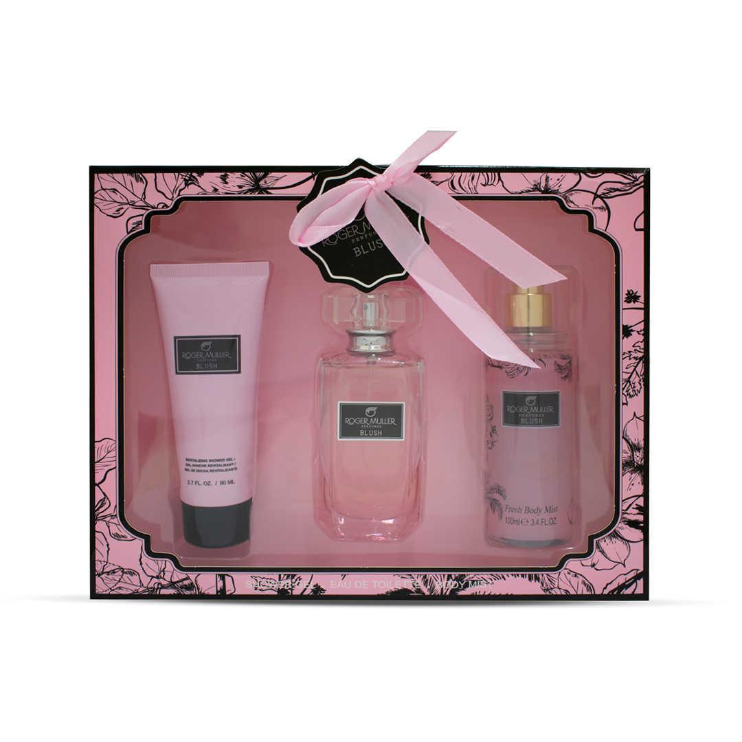 Roger Muller Perfumes Blush For Women Eau De Toilette 50ML Set
