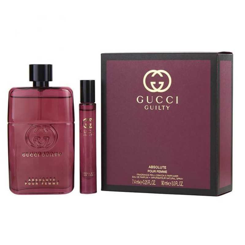 Gucci Guilty Absolute Pour Femme Eau De Parfum 90ML Travel Set
