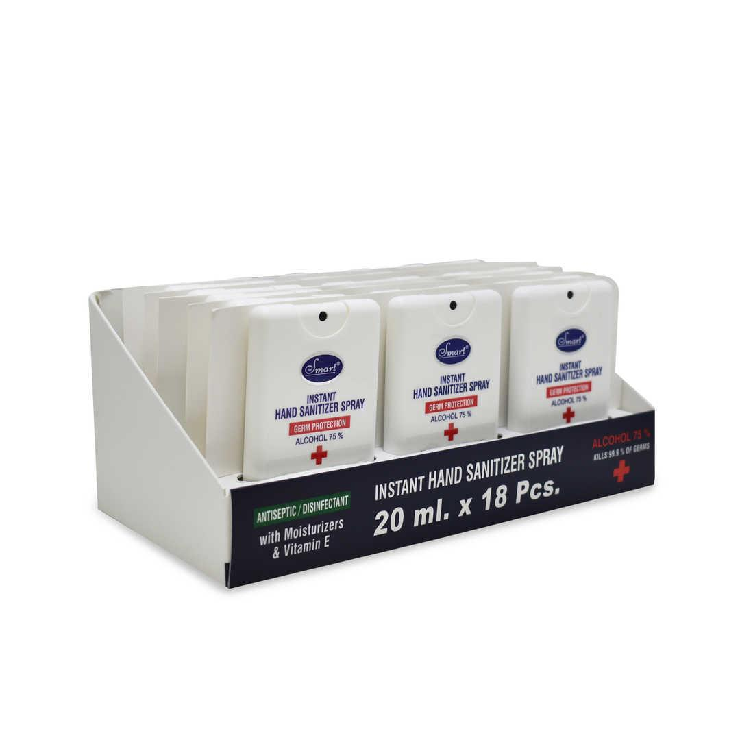 Smart Instant Hand Sanitizer Spray Germ Protection 20ML 18pcs