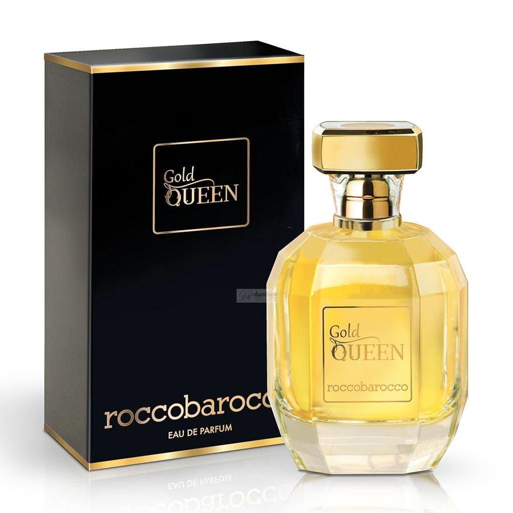 Rocco Barocco Gold Queen Eau De Parfum for Women 100 ML