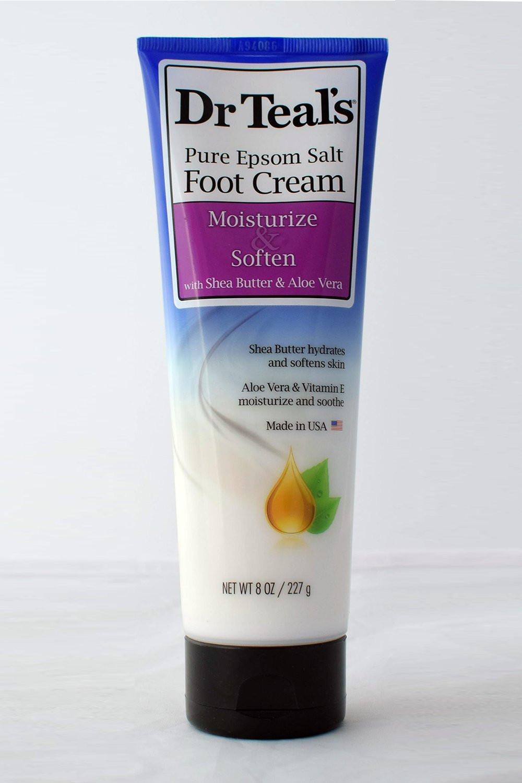 Dr. Teal's Epsom Salt Foot Cream Shea Butter & Aloe Vera 227g