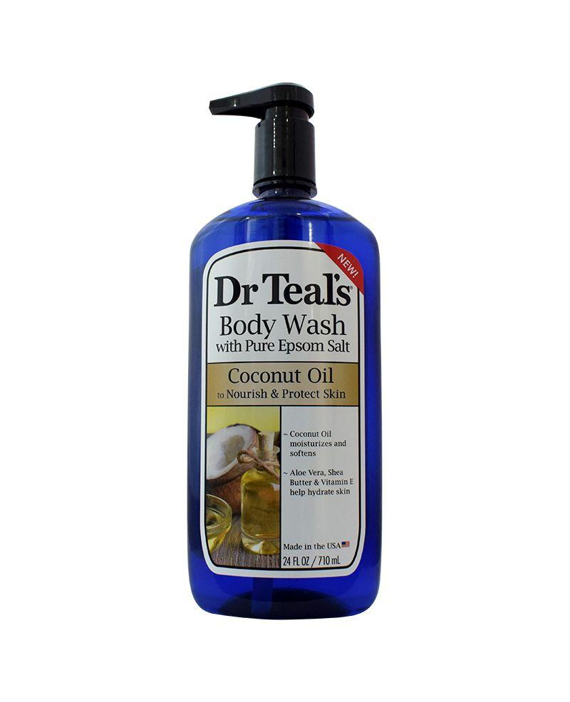 Dr. Teal's Epsom Salt Body Wash - Coconut Oil 710ml