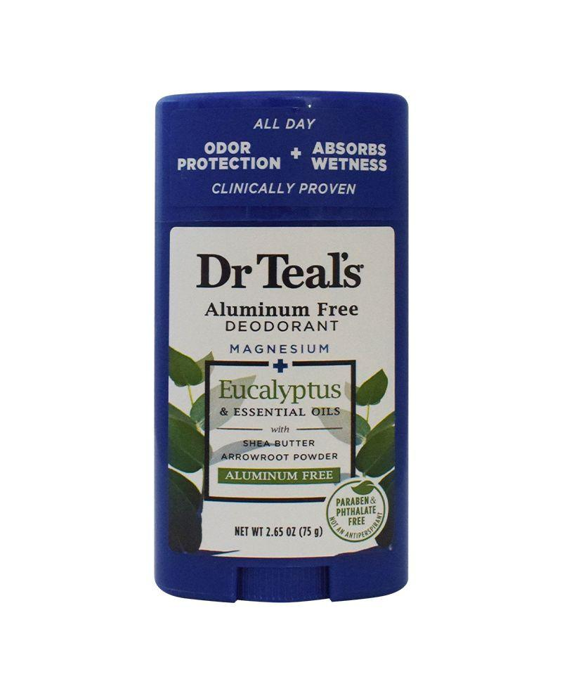 Dr. Teal's Eucalyptus Aluminum Free Deo 75g
