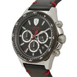 Ferrari Men's Pilota Water Resistant Leather Analog Watch 830389