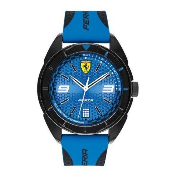 Ferrari Men's Forza Water Resistant Silicone Analog Watch 830518