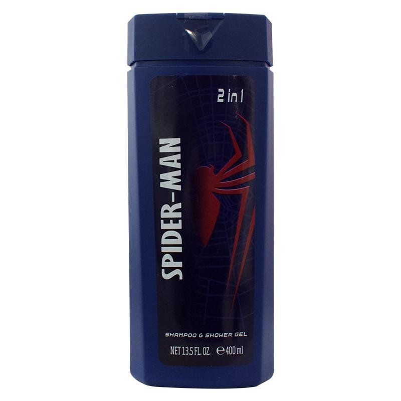 Air Val Spider Man Shampoo & Shower Gel 2 in 1 400ml