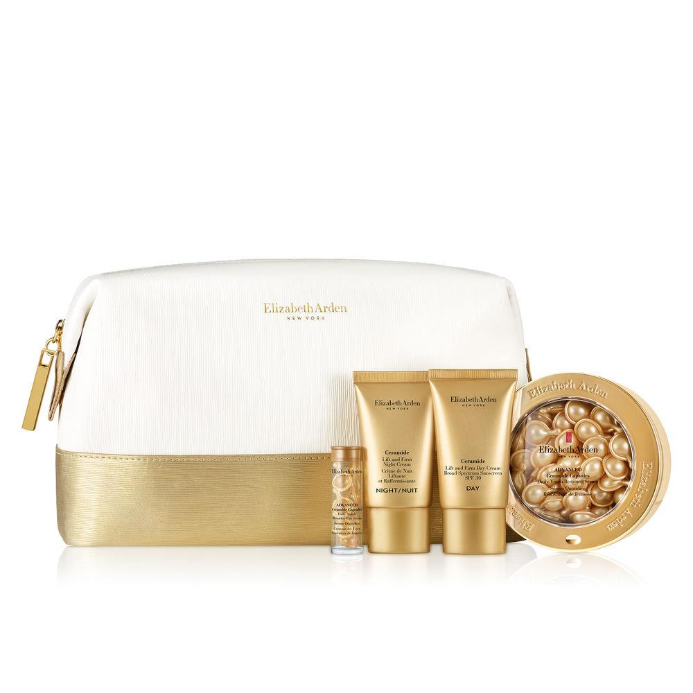 Elizabeth Arden Ceramide 4pc Caps Set In Bag