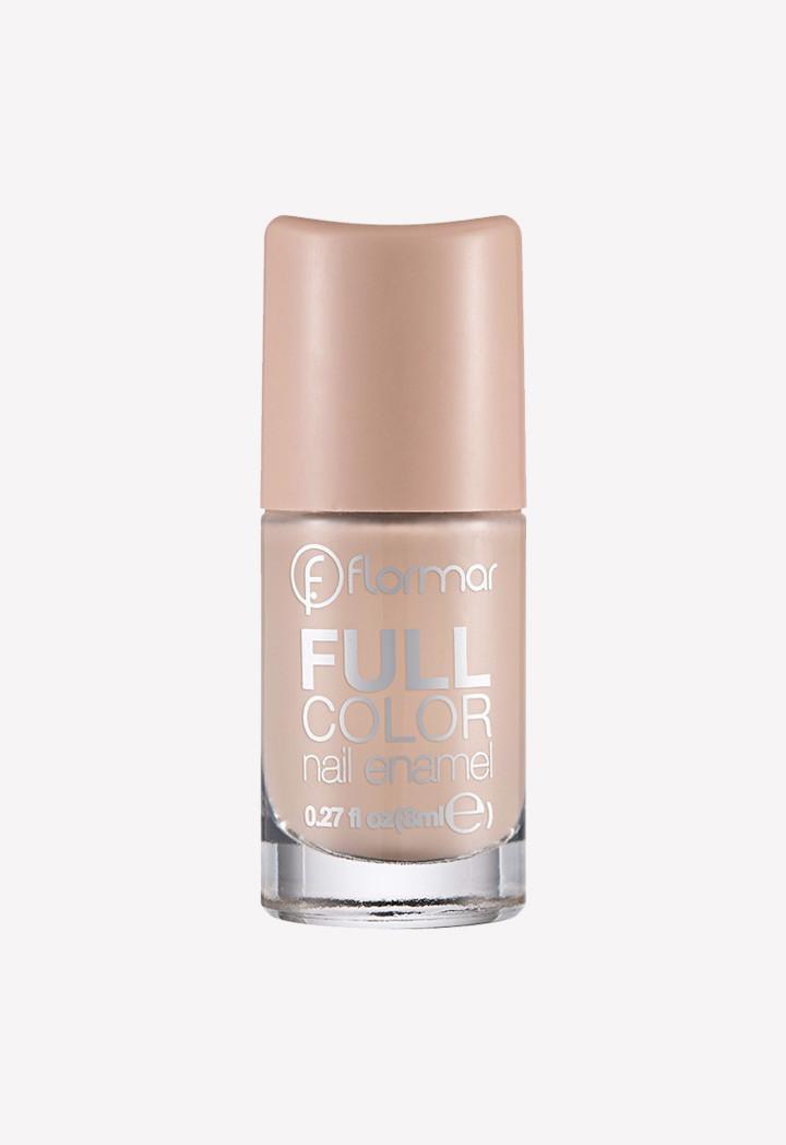 Flormar  Full Color Nail Enamel  FC06 Go Nude