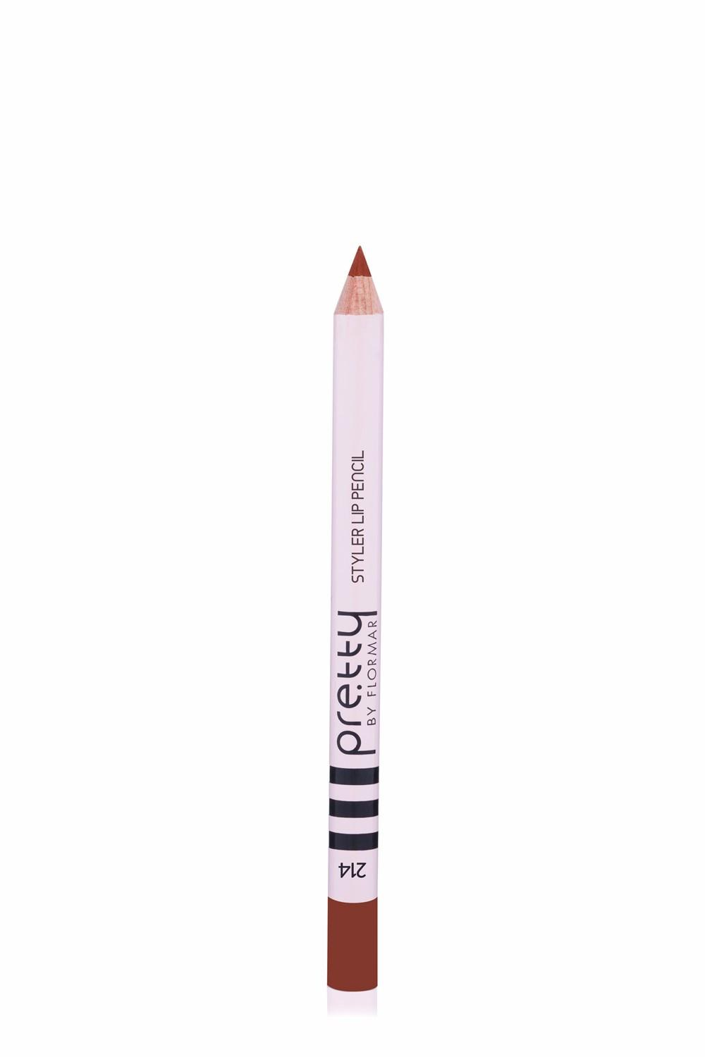 Pretty by flormar Styler Lip liner 214 Sable Candy