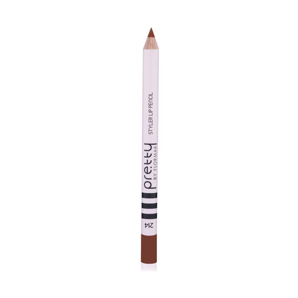 Pretty by flormar Lip Pencil Daring Brown 214