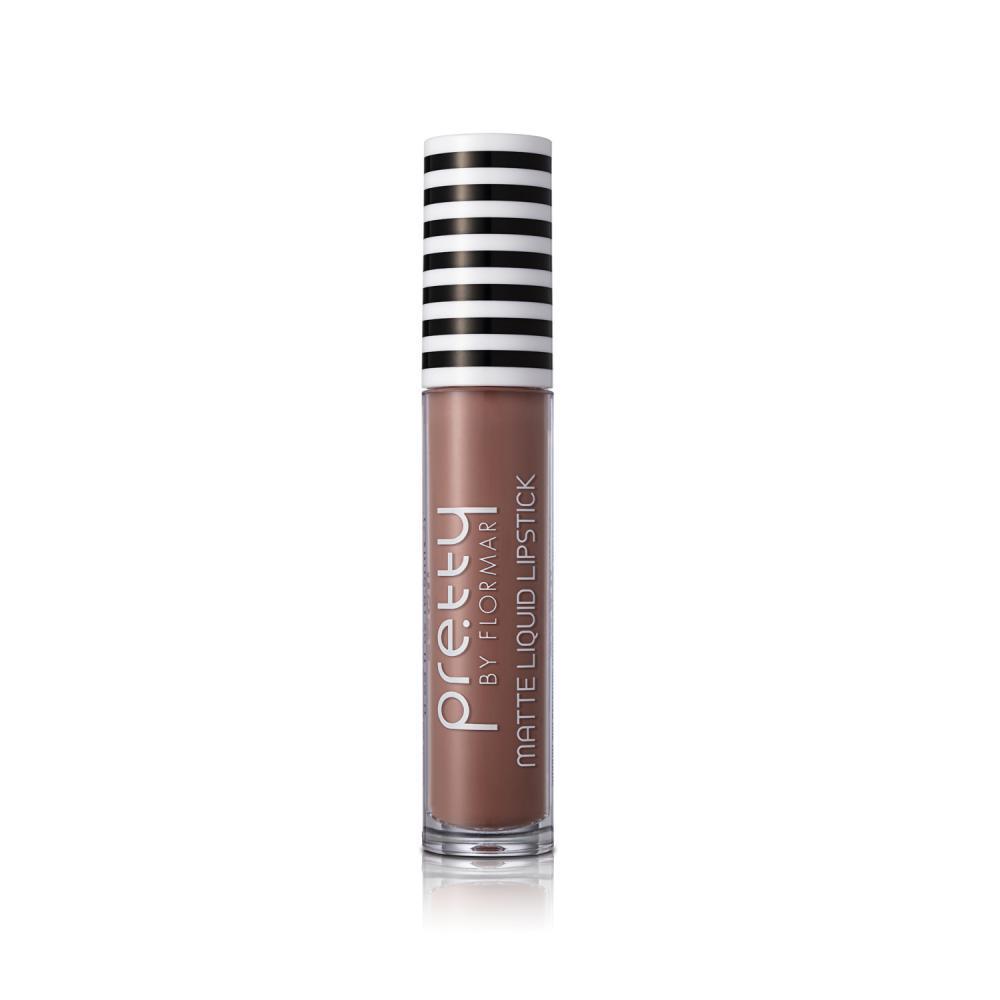 Pretty by flormar Matte Liquid Lipstick Salmon Pink 013