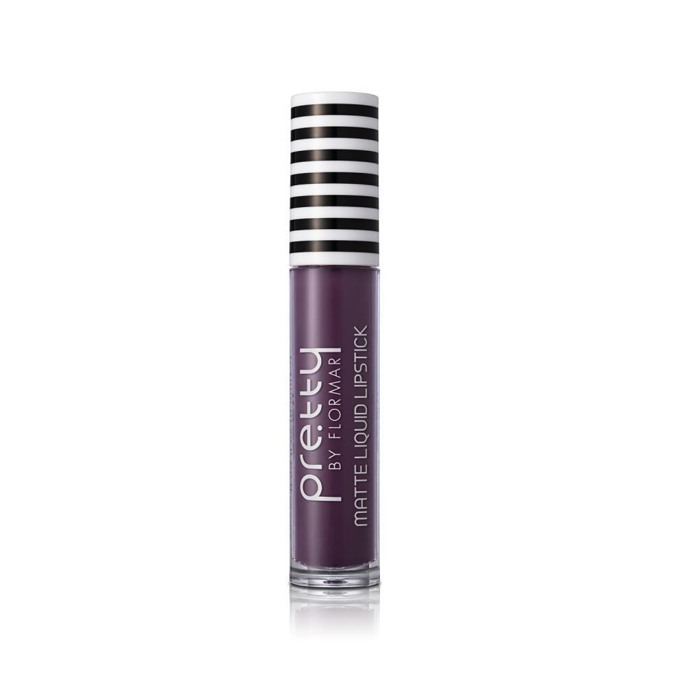 Pretty by flormar Matte Liquid Lipstick Real Purple 17