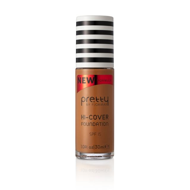 Pretty by flormar Hi-Cover Foundation Golden AMBER 012