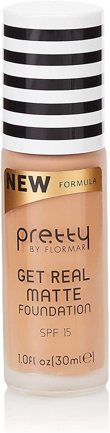 Pretty by flormar Get Real Matte Foundation Sand 010