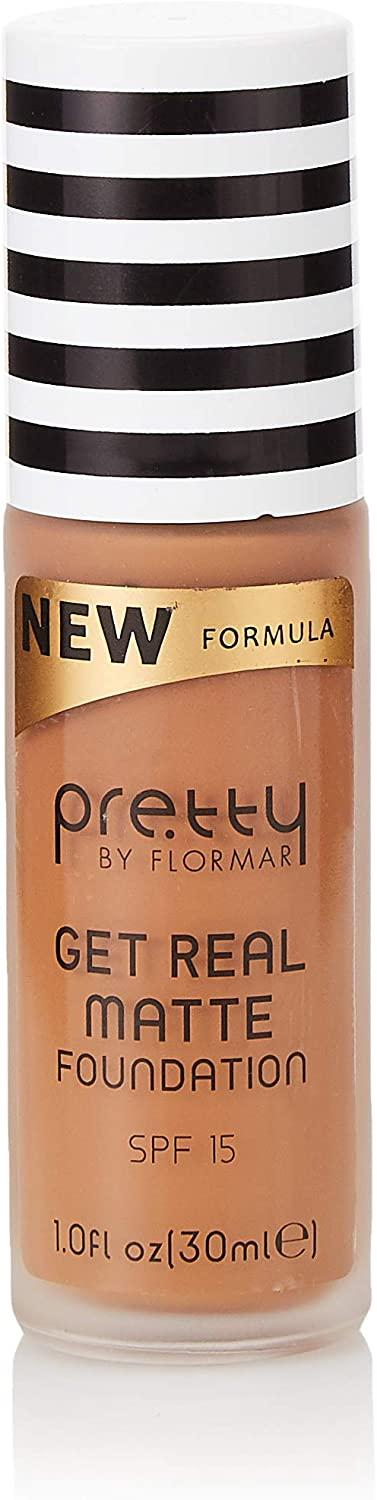 Pretty by flormar Get Real Matte Foundation Caramel 013