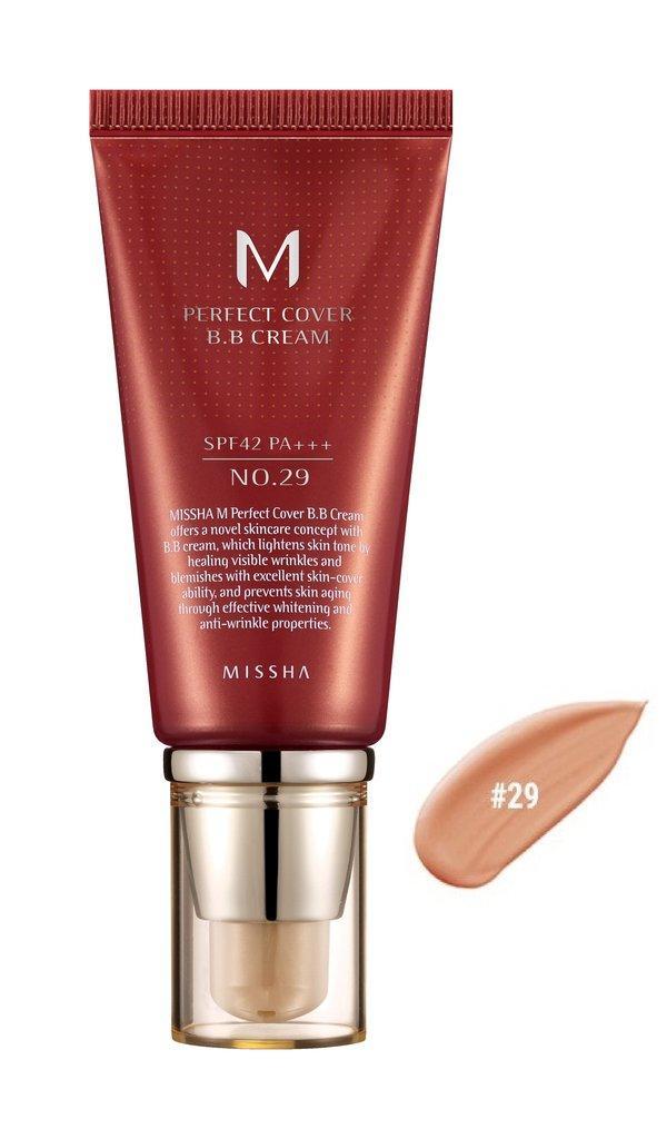 MISSHA M Perfect Cover BB Cream SPF42/PA+++ No.29/Caramel Beige 50ml