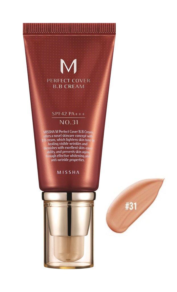 MISSHA M Perfect Cover BB Cream SPF42/PA+++ No.31/Golden Beige 50ml