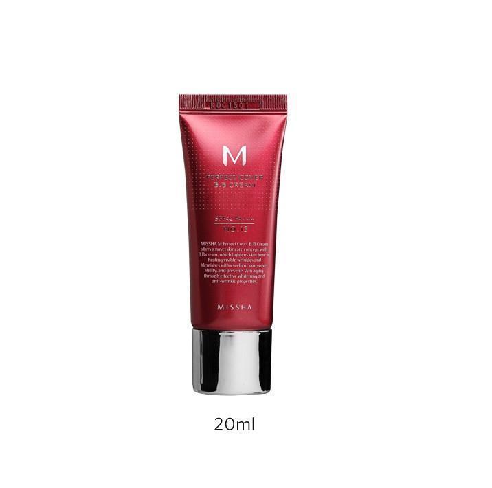 MISSHA M Perfect Cover BB Cream (No.21/Light Beige) 20 ml