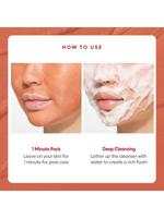 MISSHA AMAZON RED CLAY�PORE PACK FOAM CLEANSER