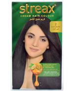 Streax Cream Hair Color Black Brown 2