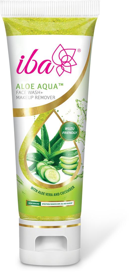 Iba Aloe Aqua Face Wash + Makeup Remover