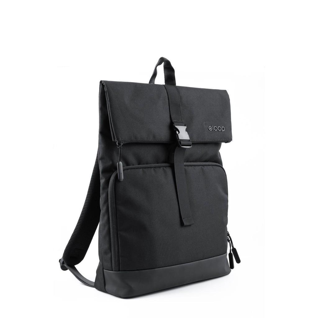 ELOOP City B2 Waterproof 15-inch Laptop Backpack Black