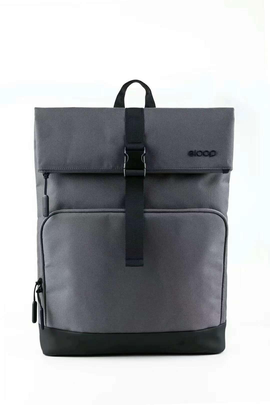 ELOOP City B2 Waterproof 15-inch Laptop Backpack Grey