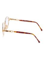 Carolina Herrera New York Frame for Unisex Gold Plated / Brown CH705-GP635-52-17-130