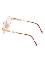 Carolina Herrera New York Frame for Unisex Gold Plated and Brown CH714-GP656-54-17-130