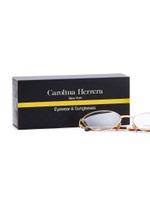 Carolina Herrera New York Frame for Unisex Gold Plated and Brown CH717-GP656-54-17-135