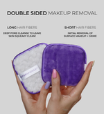 SUPER SPONGE Reusable Makeup Remover Pads (3 Pack) 100% Cotton Pads For All Skin Types | Eco-Friendly Reusable Cotton Rounds For Toner