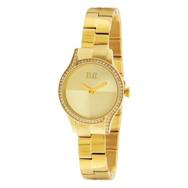 ELIZ Women's Eliz Splendeur ES25-8500L GCG - 28mm PVD Gold Plated Stainless Steel Case