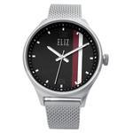 ELIZ Eliz ES8684G2SNS - Mens - 44mm Stainless Steel Case - Black Dial