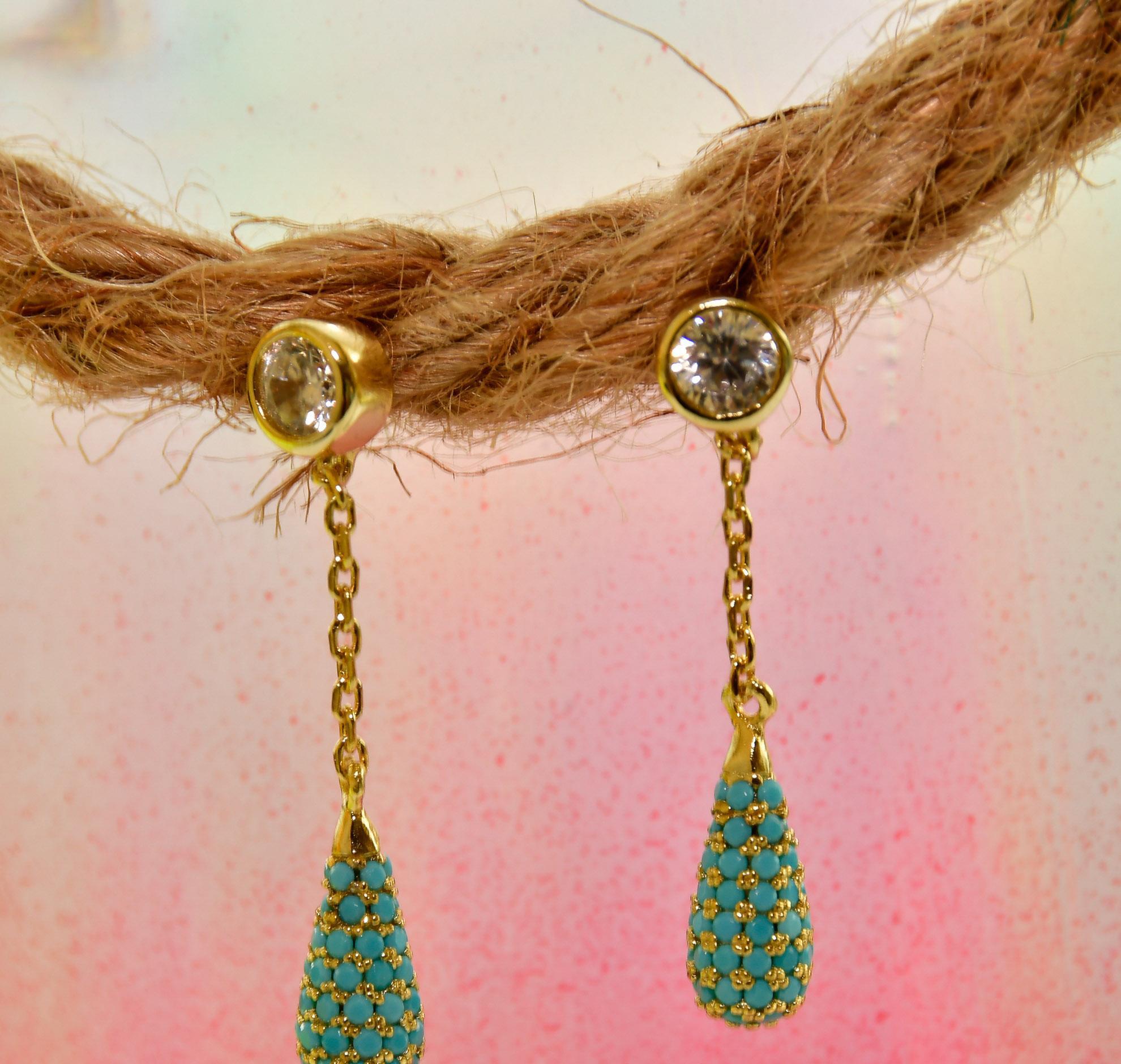 Teardrop Earrings Earrings 2