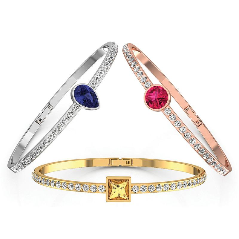 FIERRO Trio Bangle Set