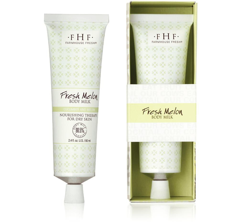 Farmhouse Fresh Fresh Melon Body Milk - Travel Tube 71ml