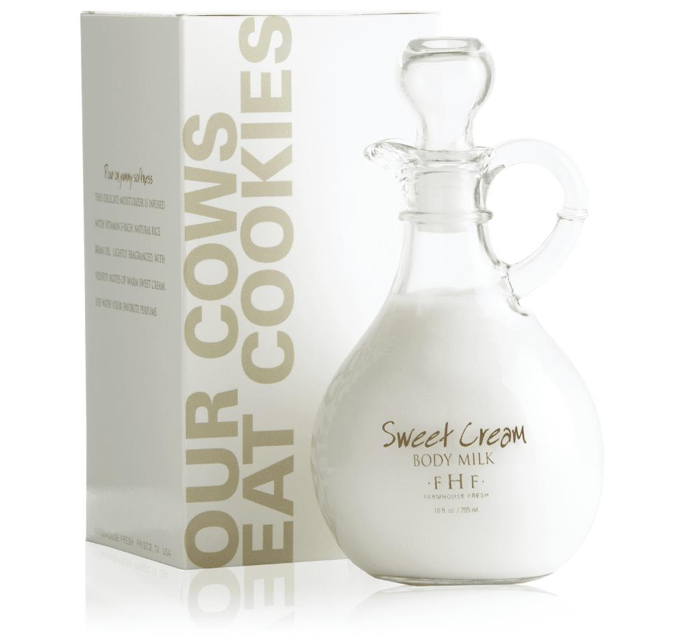 Farmhouse Fresh Sweet Cream Body Milk - Twist Top Jug 295ml