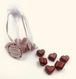 Heart Melt Candles Pure Soy Wax Melts(Pack of 6 heart shaped melts of 10 g each)-Cinnamon Scented