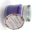 Heart Melt Candles Pure Soy Wax Handmade Jar Candle-French Lavender Scented(Net Weight:120 gms)