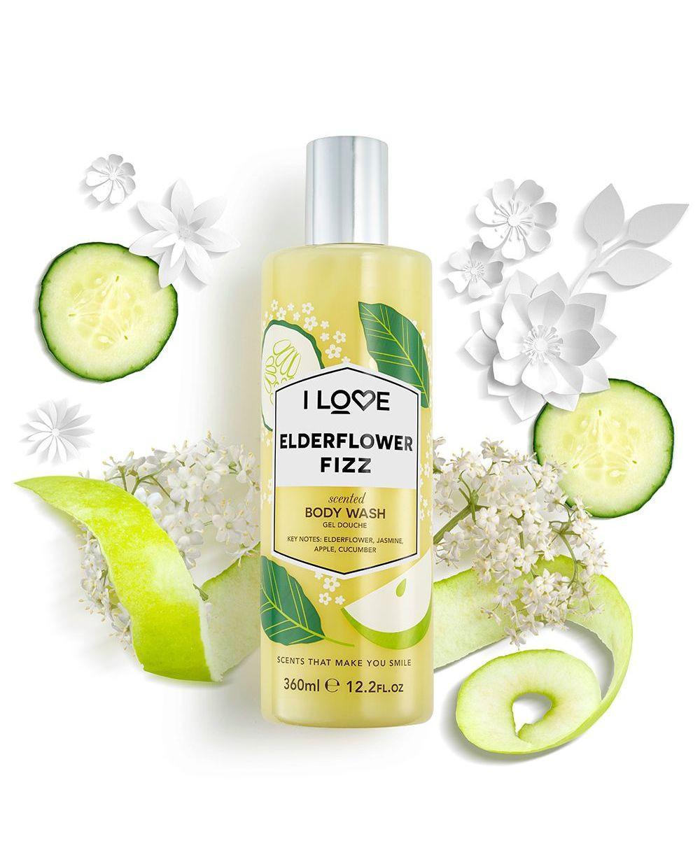 I Love Body Wash Elderflower Fizz 360ml